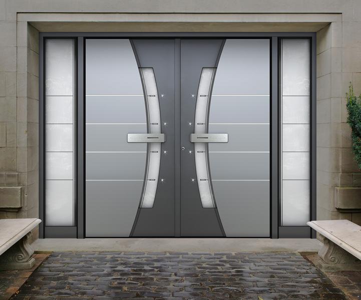 Beautiful Aluminum Exterior Doors Pictures - Decoration Design ...