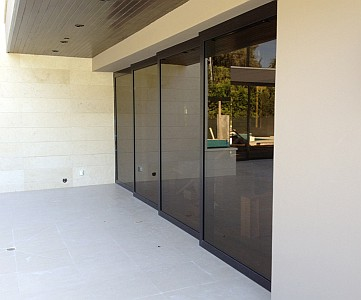 Aluminum Pocket Multi Sliding Doors